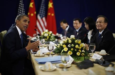 Wen Jiabao - Barack Obama