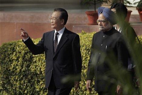 Wen Jiabao - Manmohan Singh